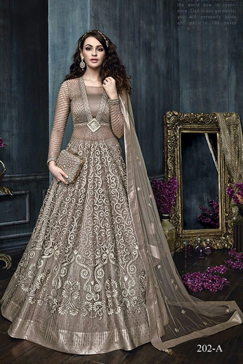 Zoya Floor Length Anarkali Suit 202