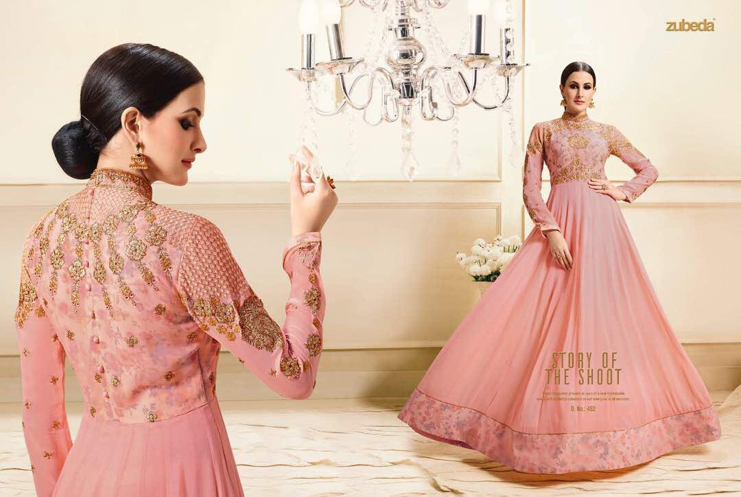 Zubeda Designer Floor Length Salwar Suits