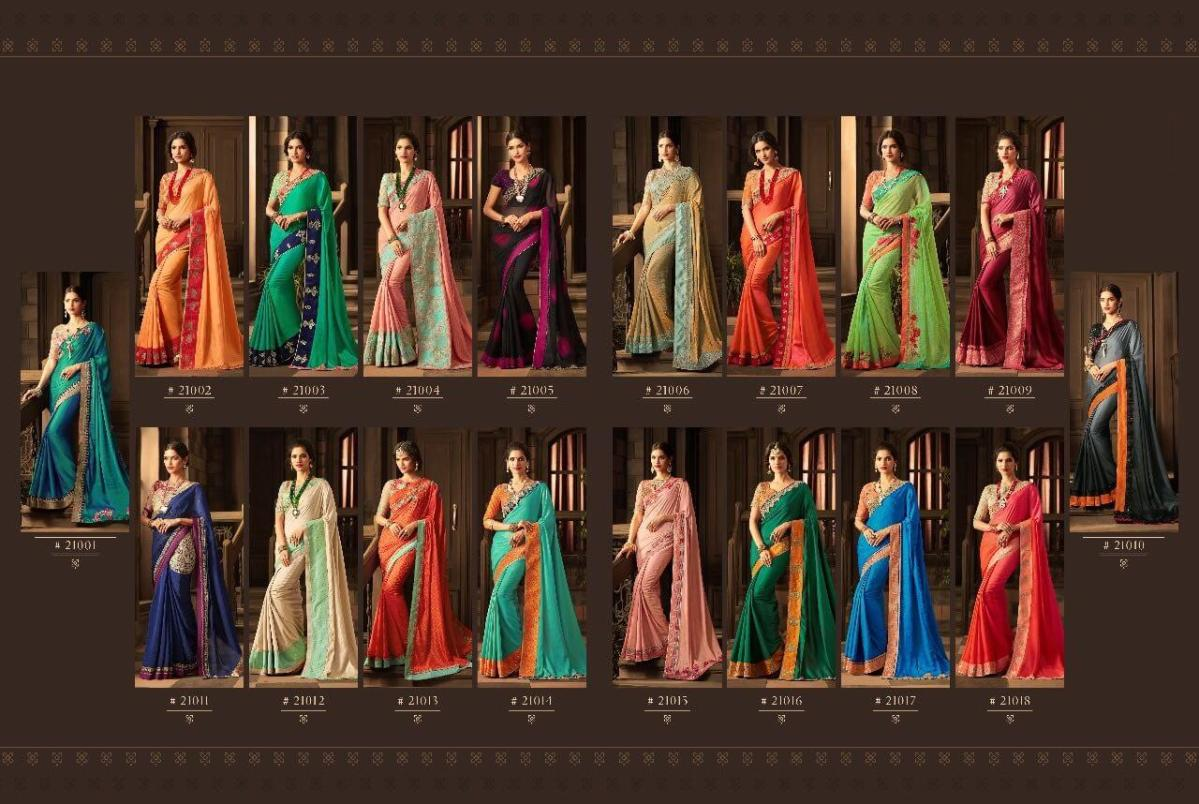 Shop Glamorous TFH SilverScreen v11 Designer Saree Online