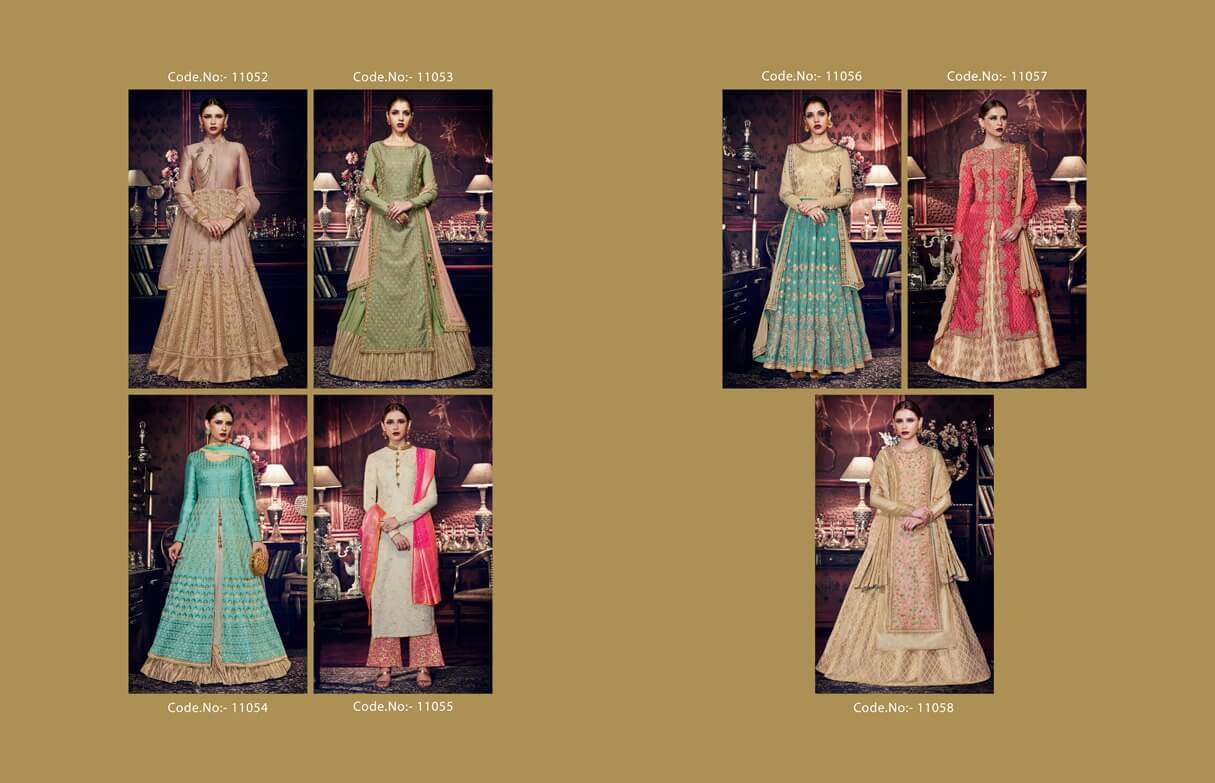 Nakkashi Exclusive Wedding Anarkali & Lehenga Suits Collection