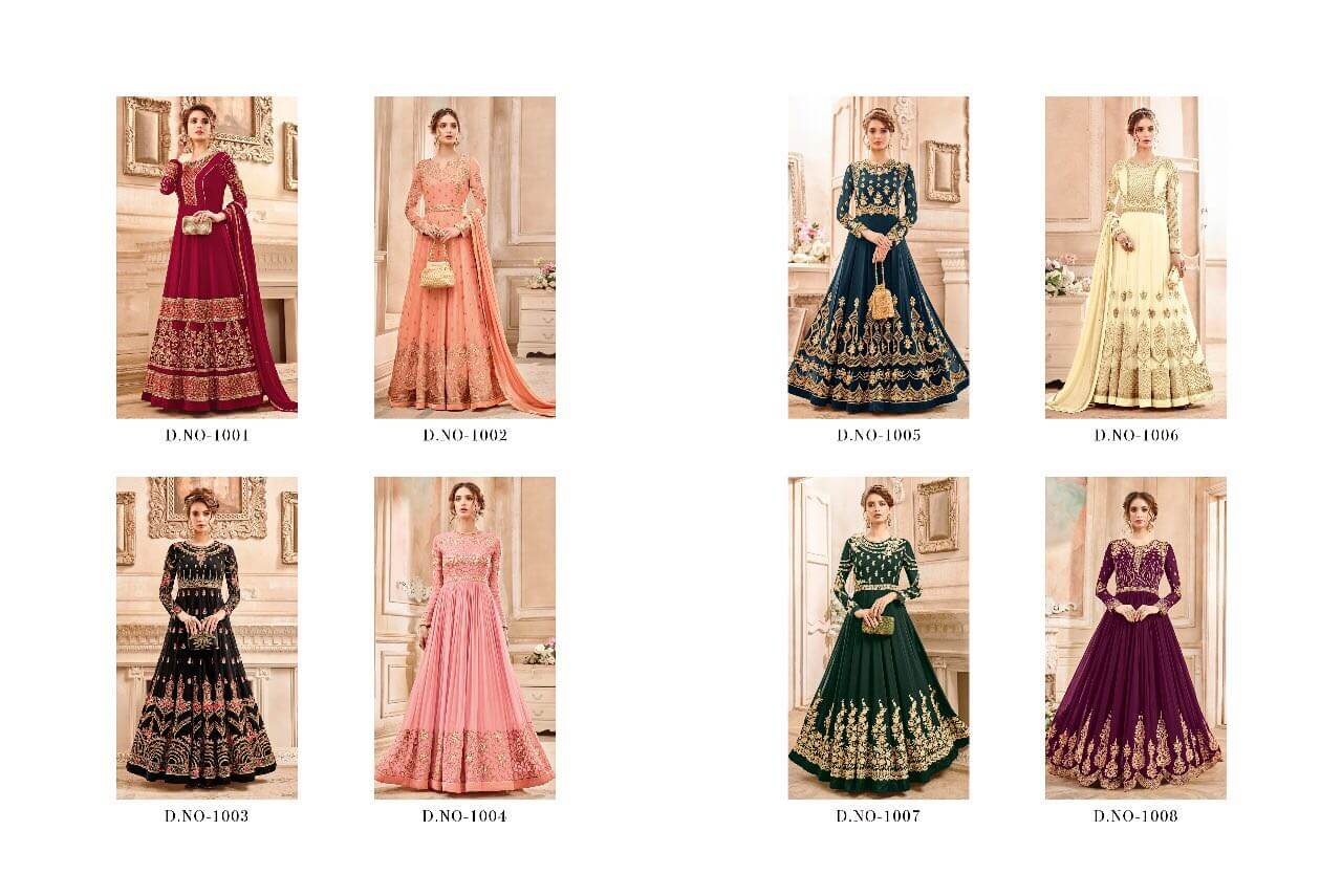 Shop Zaira MASTANI Anarkali Bridal Wear Online