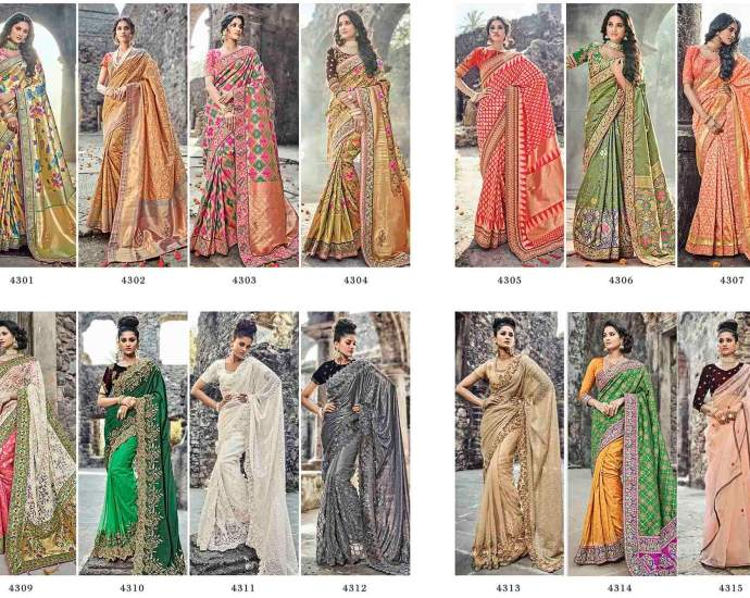 Shop Elite Bridal Sarees Online