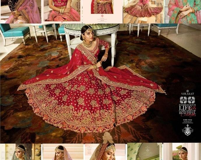 Virasat Royal Bridal Lehenga Blouse Collection