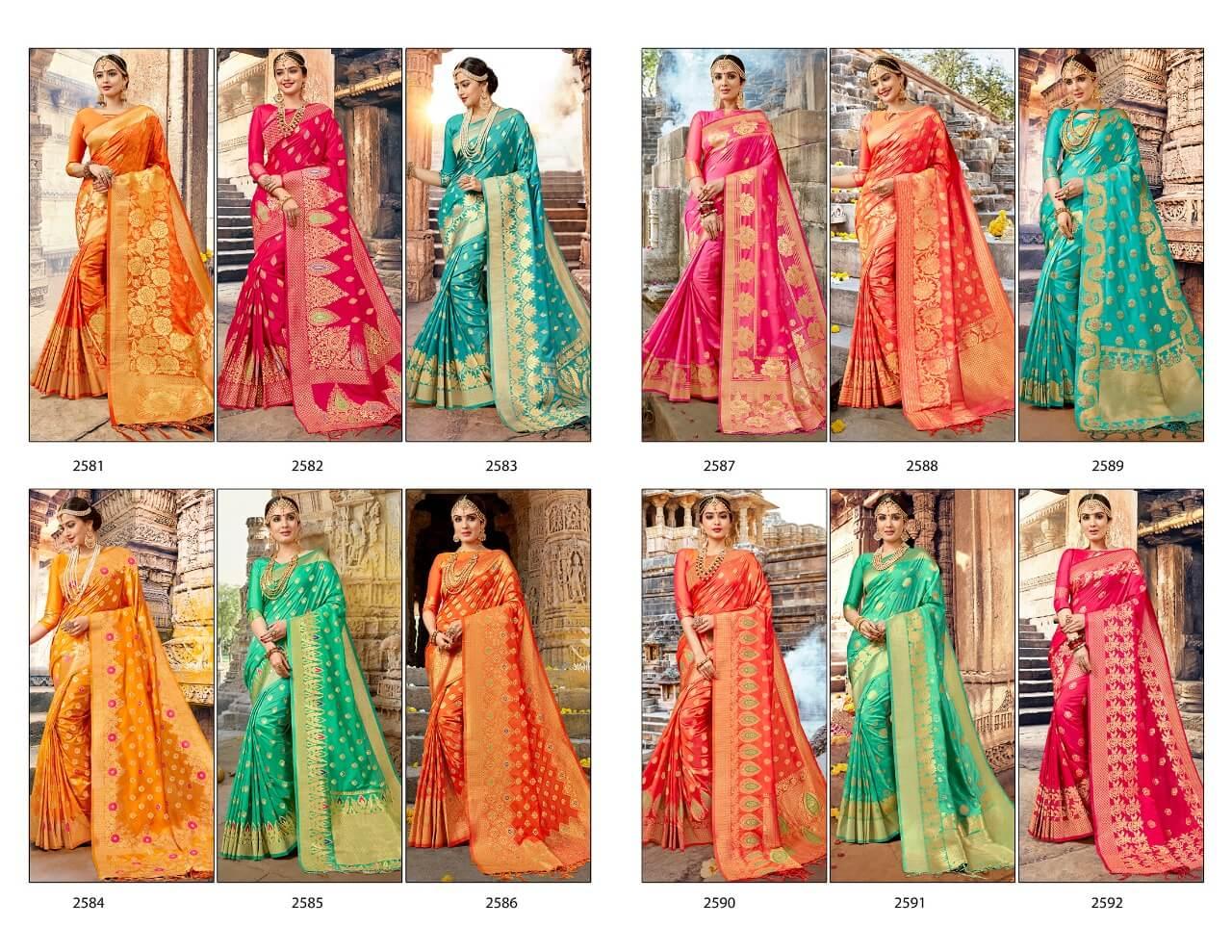 Shangrilla Pure Banarsi Nalli Silk Sarees