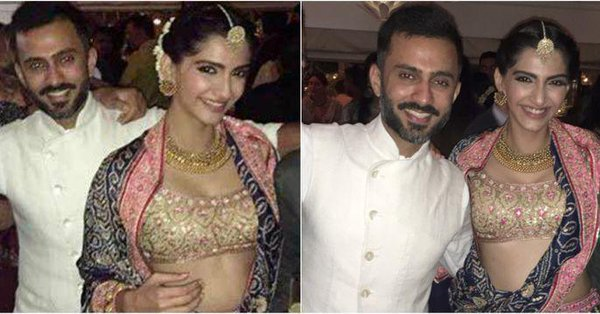 Anand Ahuja And Sonam Kapoor Royal Wedding 2018