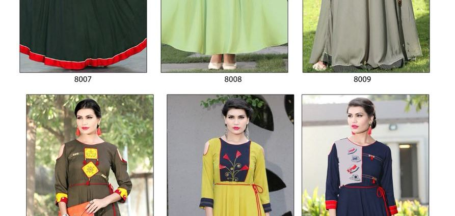 Mittoo Prasang Vol 2 Long Anarkali Kurtis