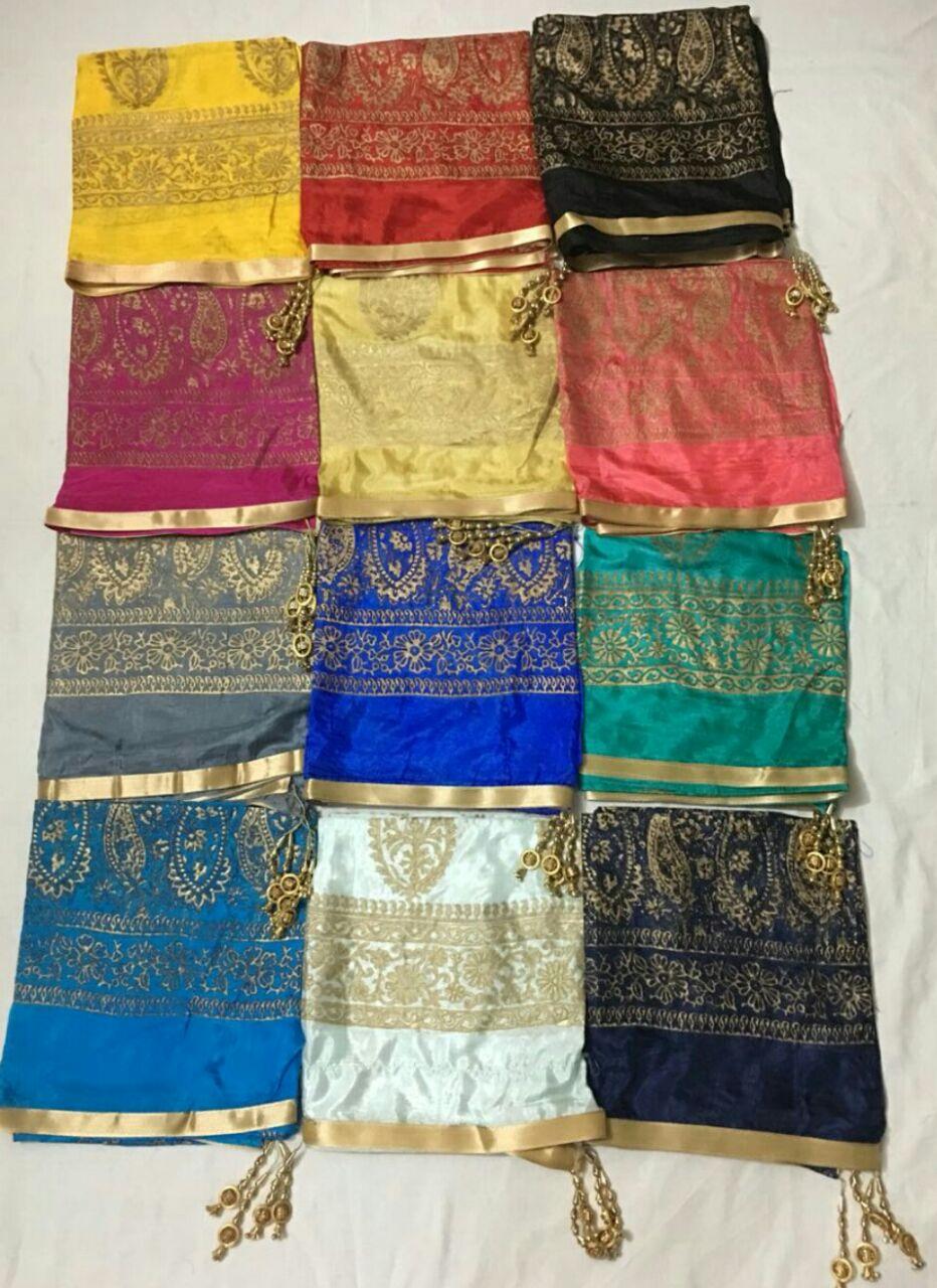 Shop Pure Tabby Silk Dupatta Online
