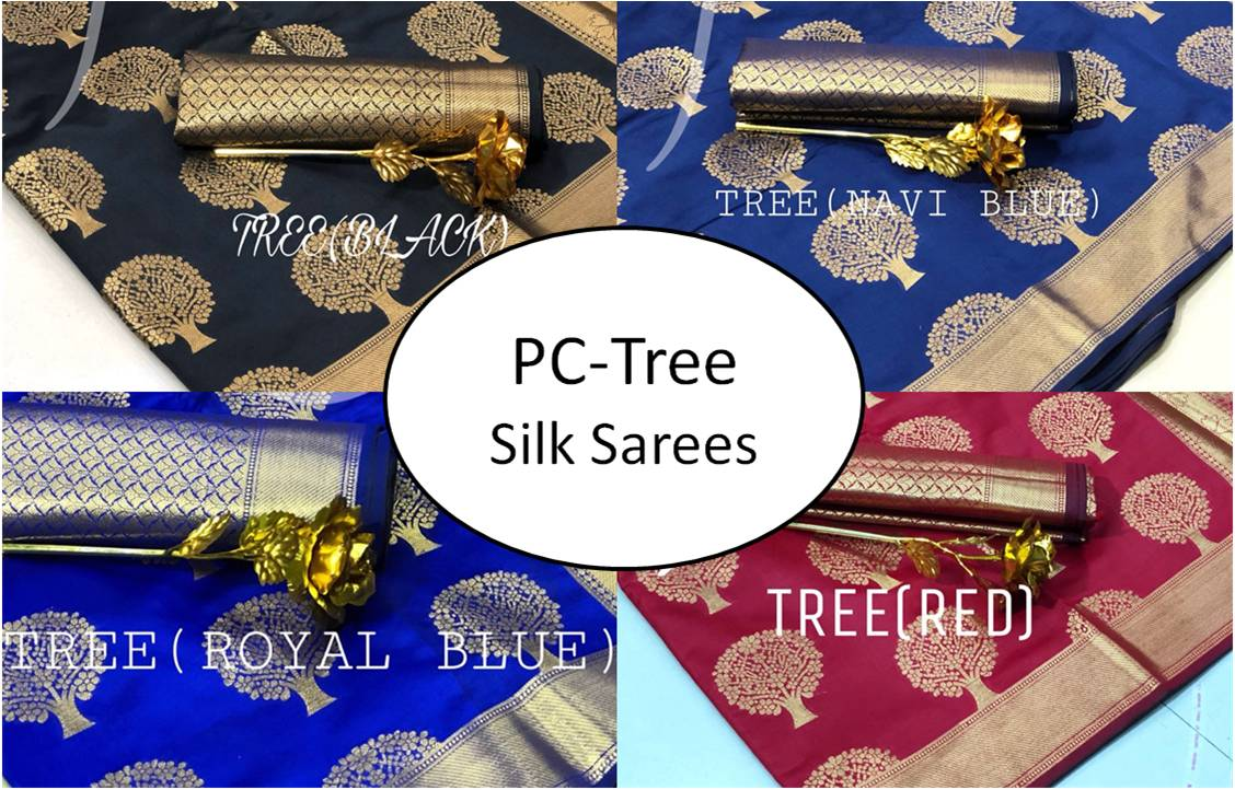 PC-Tree Silk Sarees