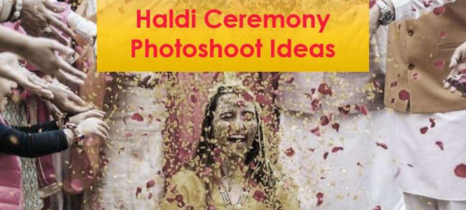 Haldi Ceremony Photoshoot Ideas