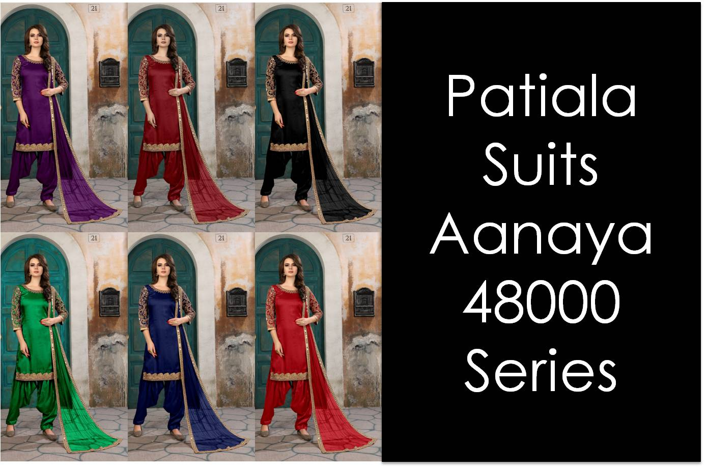 Patiala Suits Aanaya 48000 Series