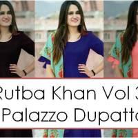 Shop Kurti Palazzo Pants Dupatta Sets Rutba Khan vol 3 Online