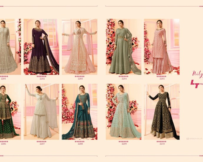Designer Party Wear Punjabi Suits NITYA Vol 122