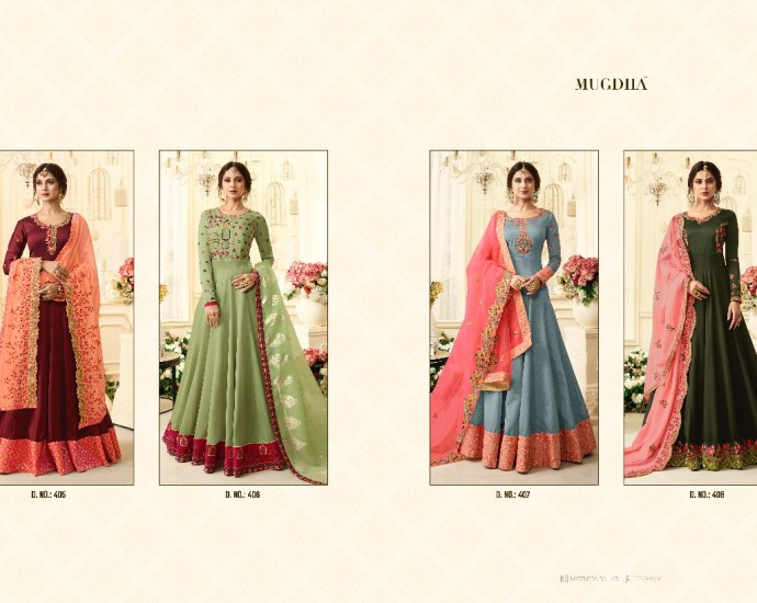 Floor Length Anarkali Suits Mugdha JW Series