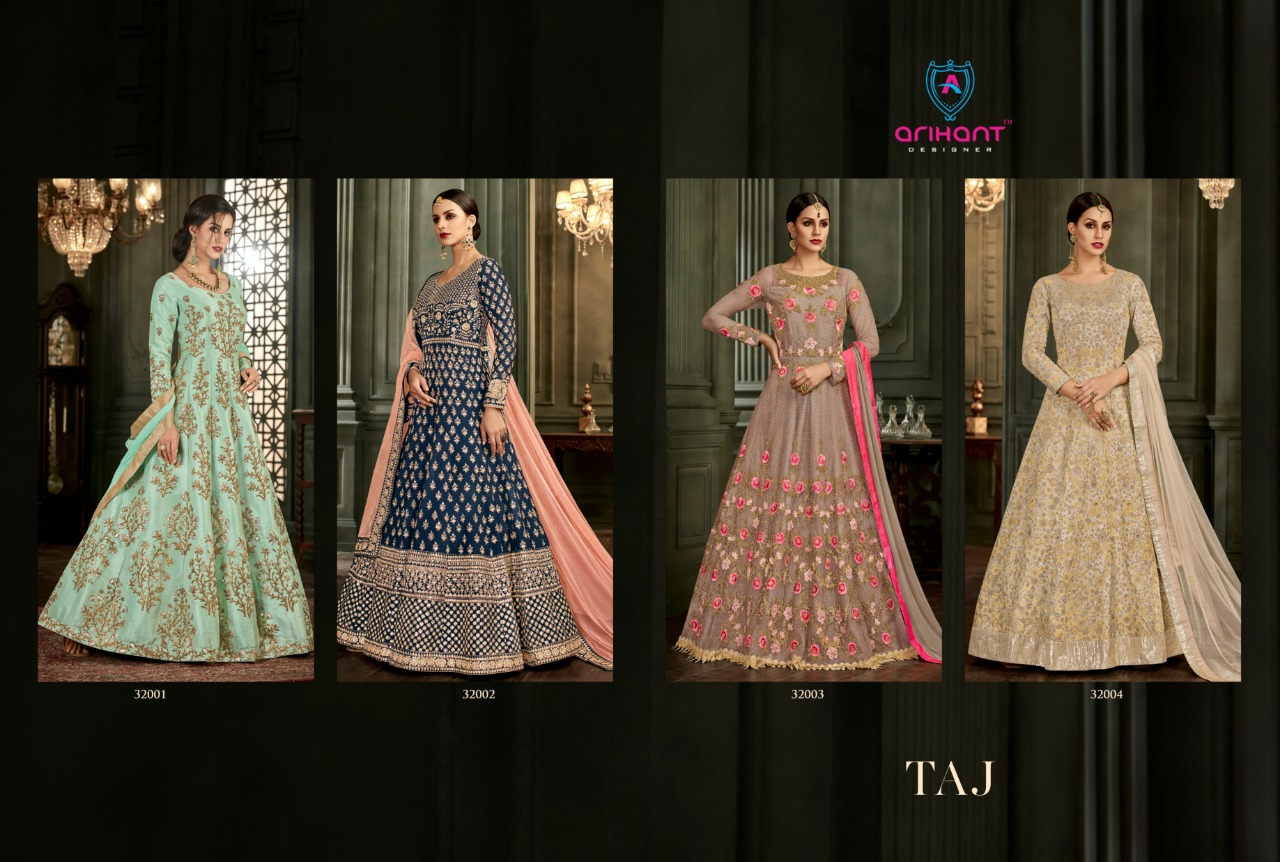 Floor Length Gown Arihant Taj