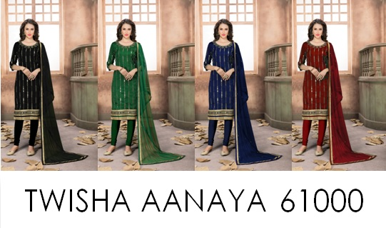 Mirror Work Punjabi Suits Twisha AANAYA 61000