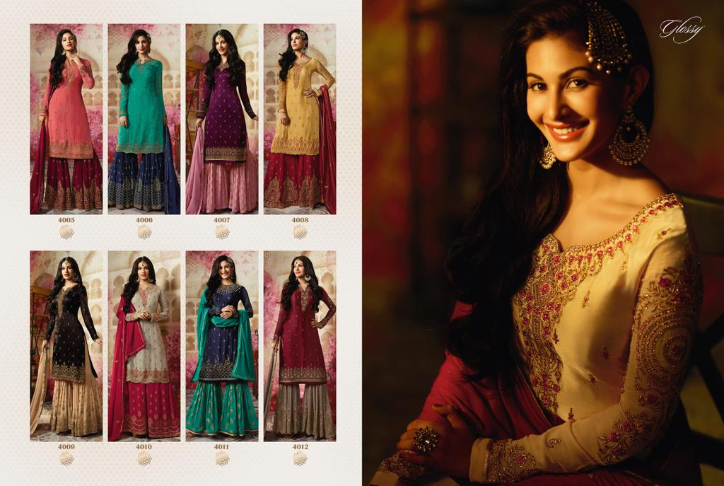 Sharara Suits Simar Amyra