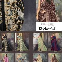 Shop Parsi Saree StyleWell Vol.1 Online