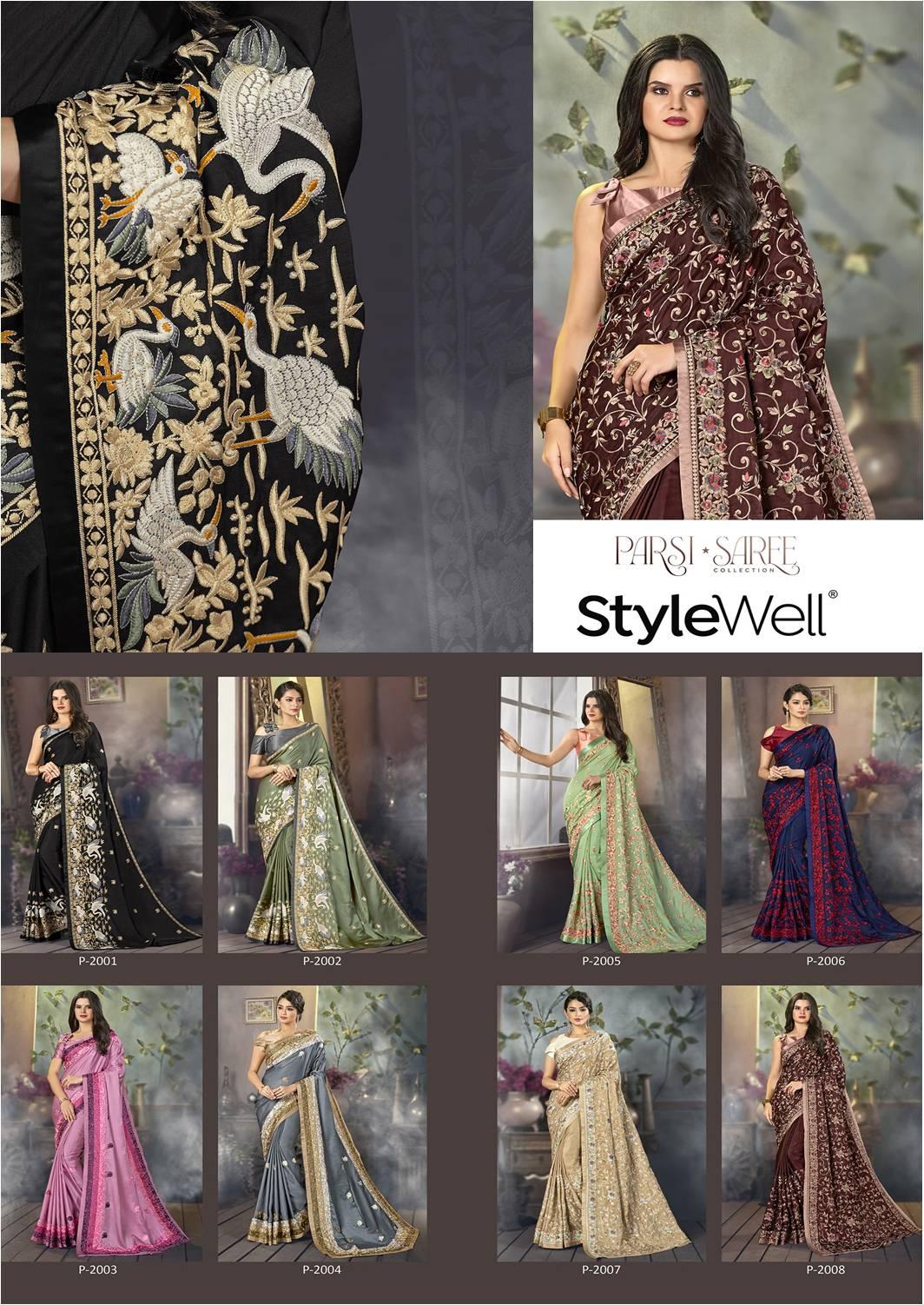 Parsi Saree StyleWell Vol.1