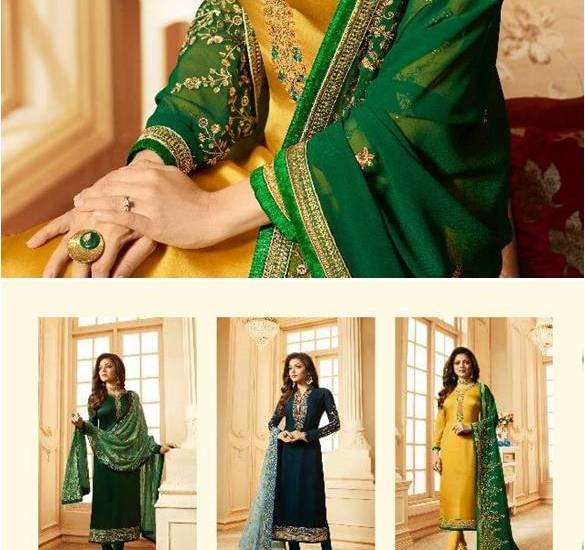 Partywear Churidar Suits Nitya Vol-123