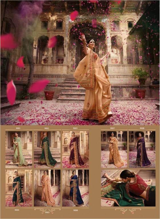 Bridal Sarees Palash vol 9 by Vritika Lifestyle