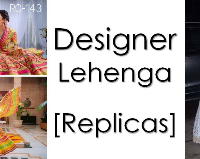 Designer Lehenga Replicas