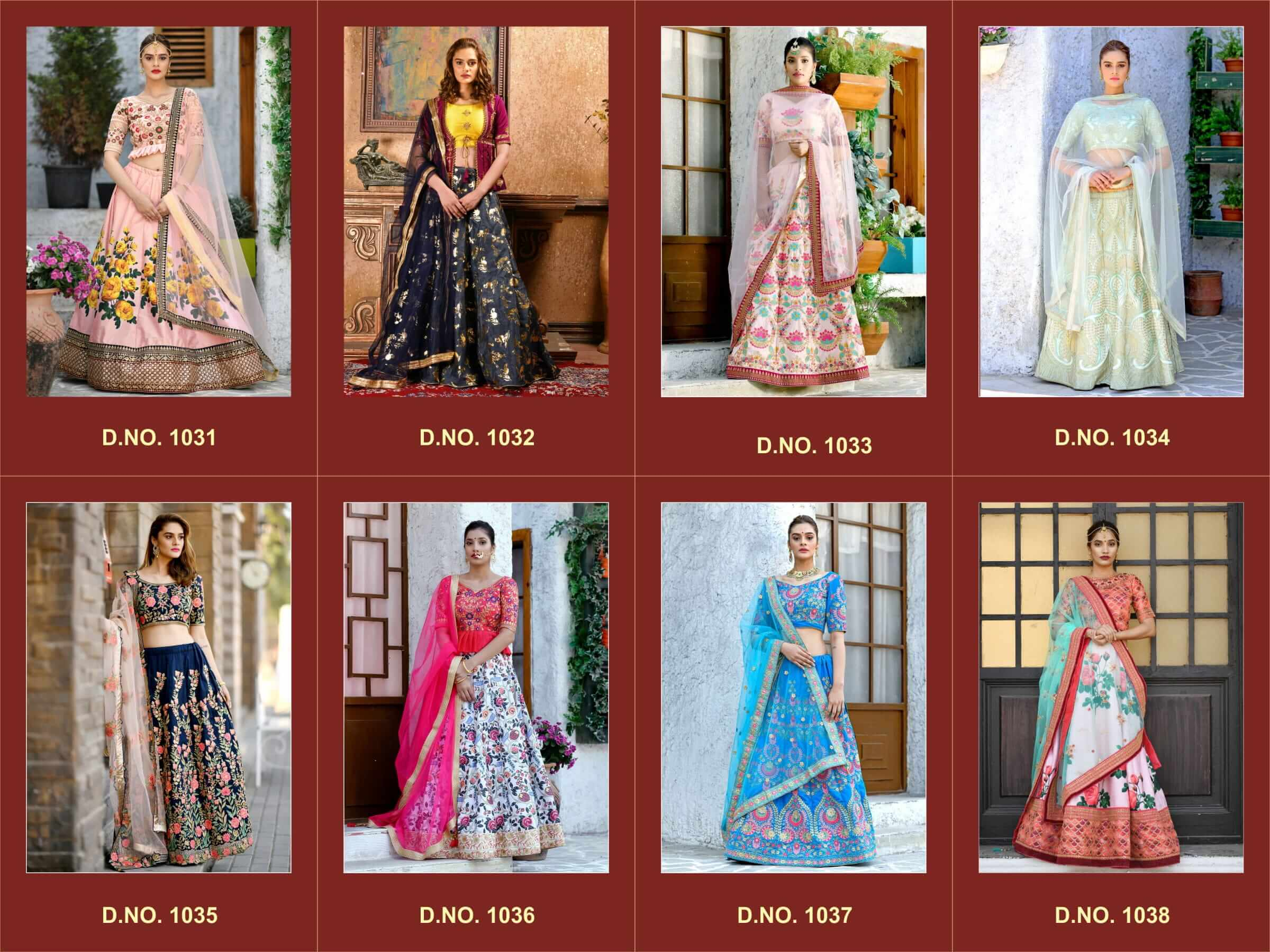 Indian Bridesmaid Dresses Lehenga Choli