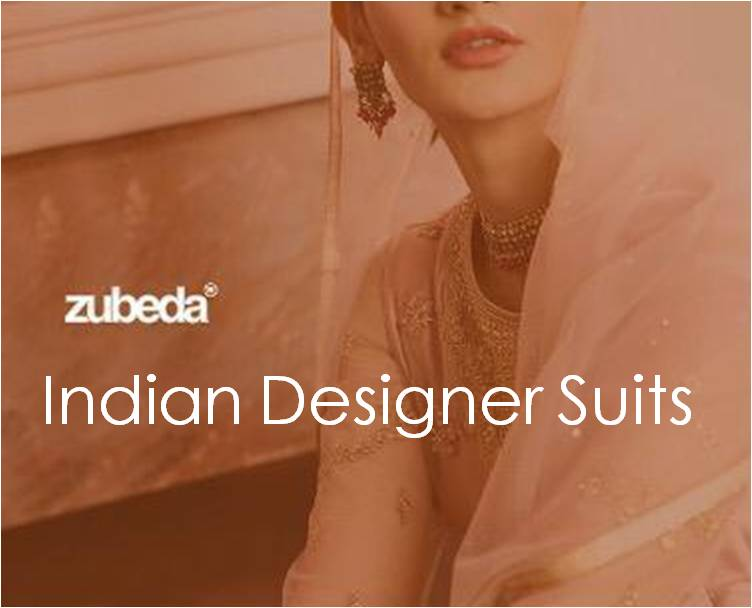 Shop Indian Designer Suits Zubeda Online