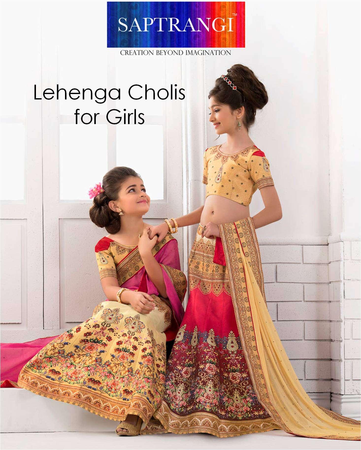 Girls Lehenga Choli Saptrangi VL-100-Series