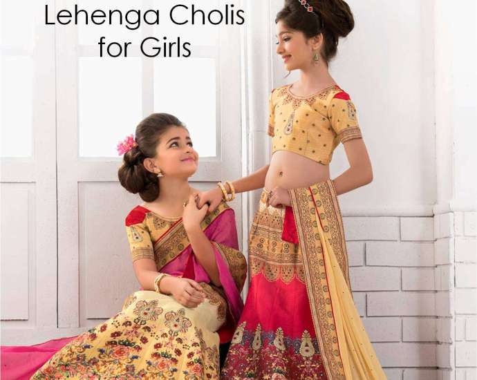 Girls Lehenga Choli Saptrangi VL-100-Series