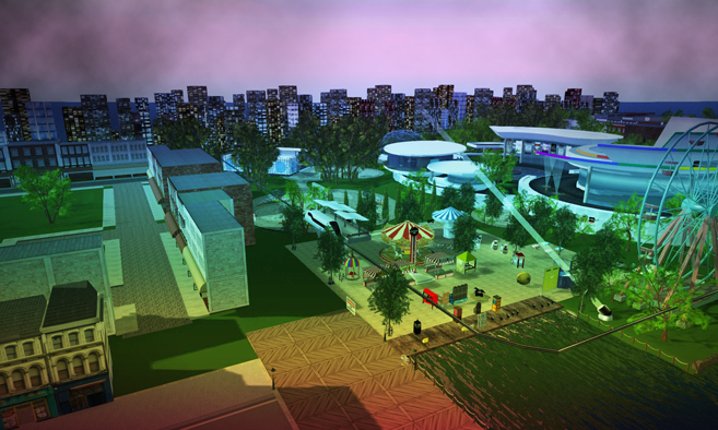 A LGBT Pride Festival Takes Place Within Second Life