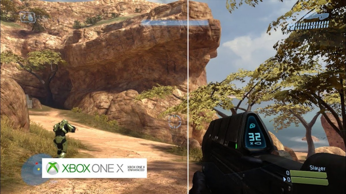 Halo 3 Xbox One X Enhanced Vs Xbox 360 Comparison High