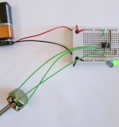 photos of led dimmer circuit with potentiometer [ 1200 x 947 Pixel ]