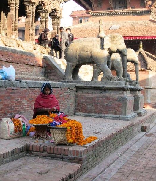 Near the museum, Patan