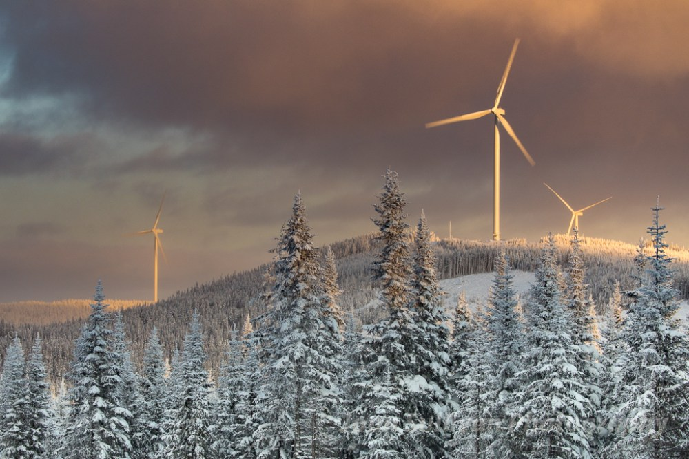 Joan, Sullivan, Joan Sullivan, renewable, energy, photographer, Canada, Quebec, winter, landscape, snow, wind