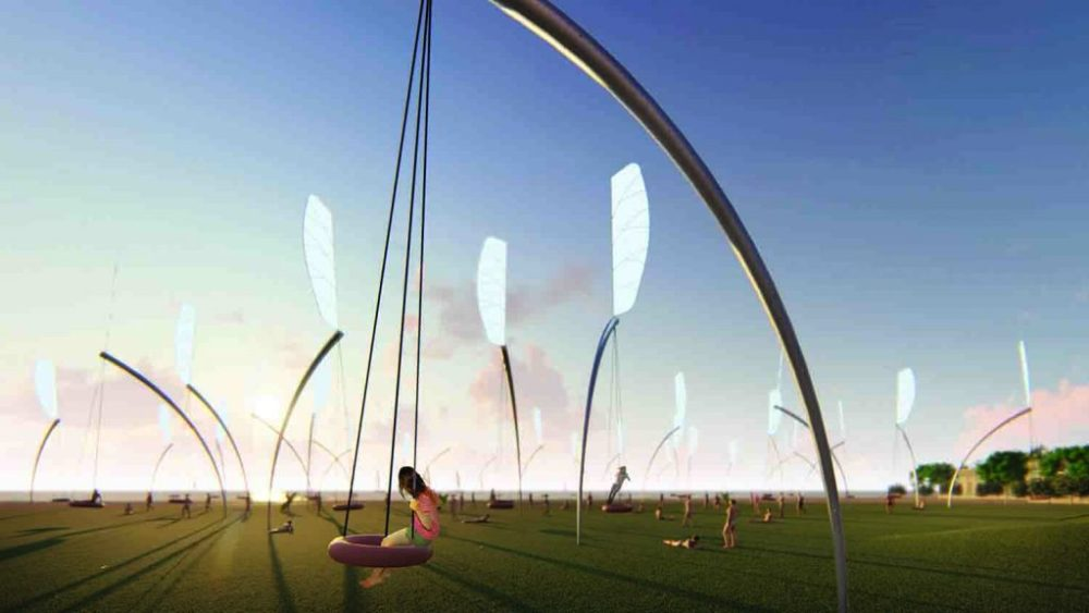 LAGI, Land Art Generator, Melbourne, PV, wind, kinetic