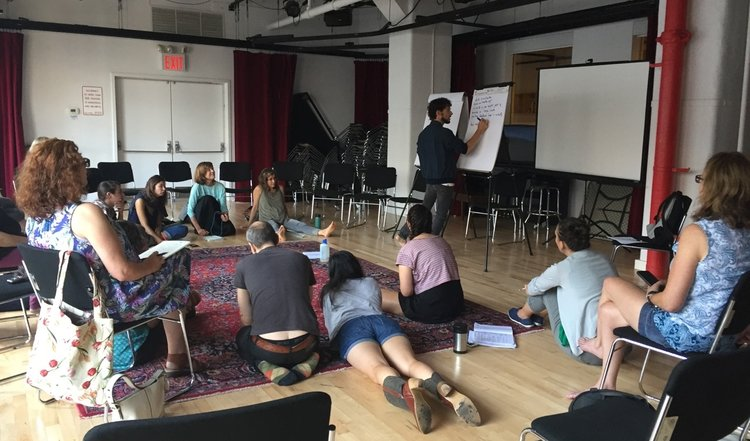 The 2019 Artists & Climate Change Incubator – New York