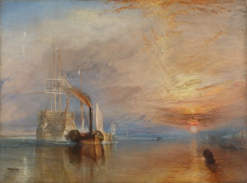 Turner, JMW Turner, transition, energy, Temeraire, shift, wind, coal, steam