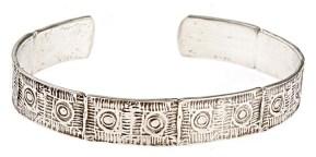 Lexington Brick Silver Bracelet by Worth