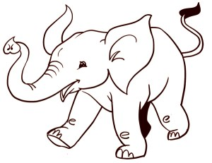 animals draw easy drawing elephant beginners animal drawings step perfect artistsnetwork sketches pencil getdrawings painting final