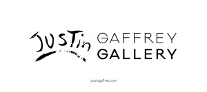 artist justin gaffrey gallery logo
