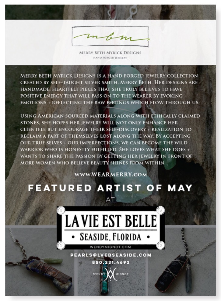 La Vie Est Belle Open this Friday! | Artists of 30a & South