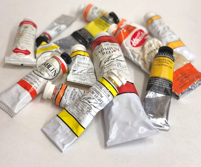 Is cadmium paint toxic? ArtistsOnArt.com
