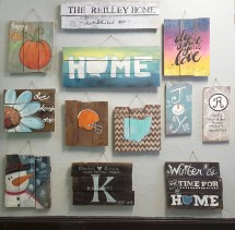 Pallet Paintings Wood Signs Artists Uncork'