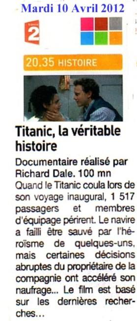 D Où Est Parti Le Titanic : parti, titanic, Titanic, Prémonition