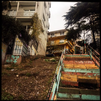 Istanbul stairs, Mieke Strand