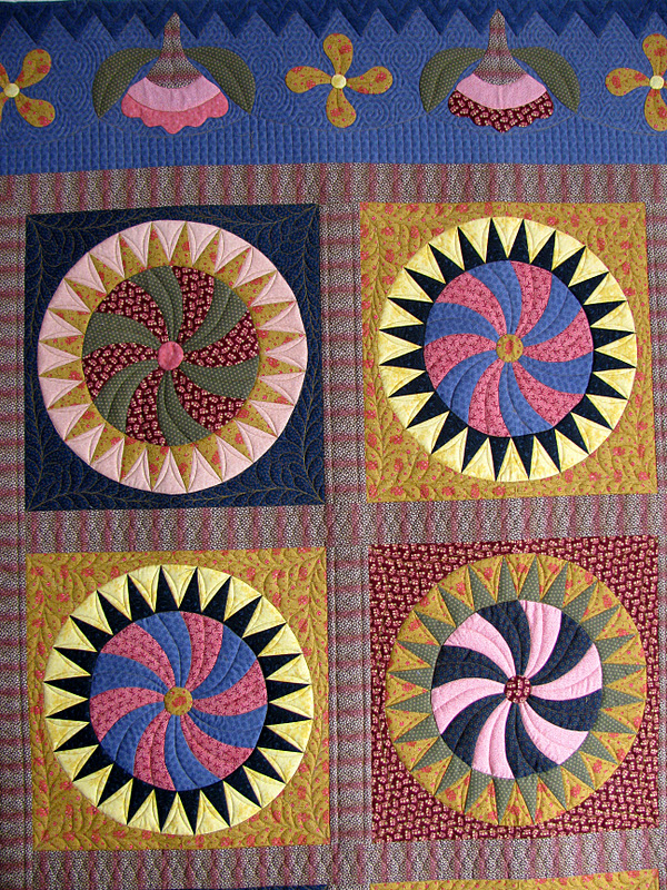 quilts with kongo cosmogram