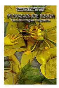 Capa - Livro Florais De Bach