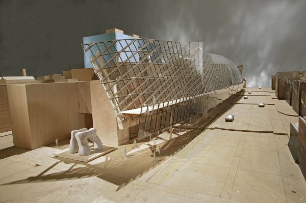 Art Of Ontario Reopens With Gehry Renovation