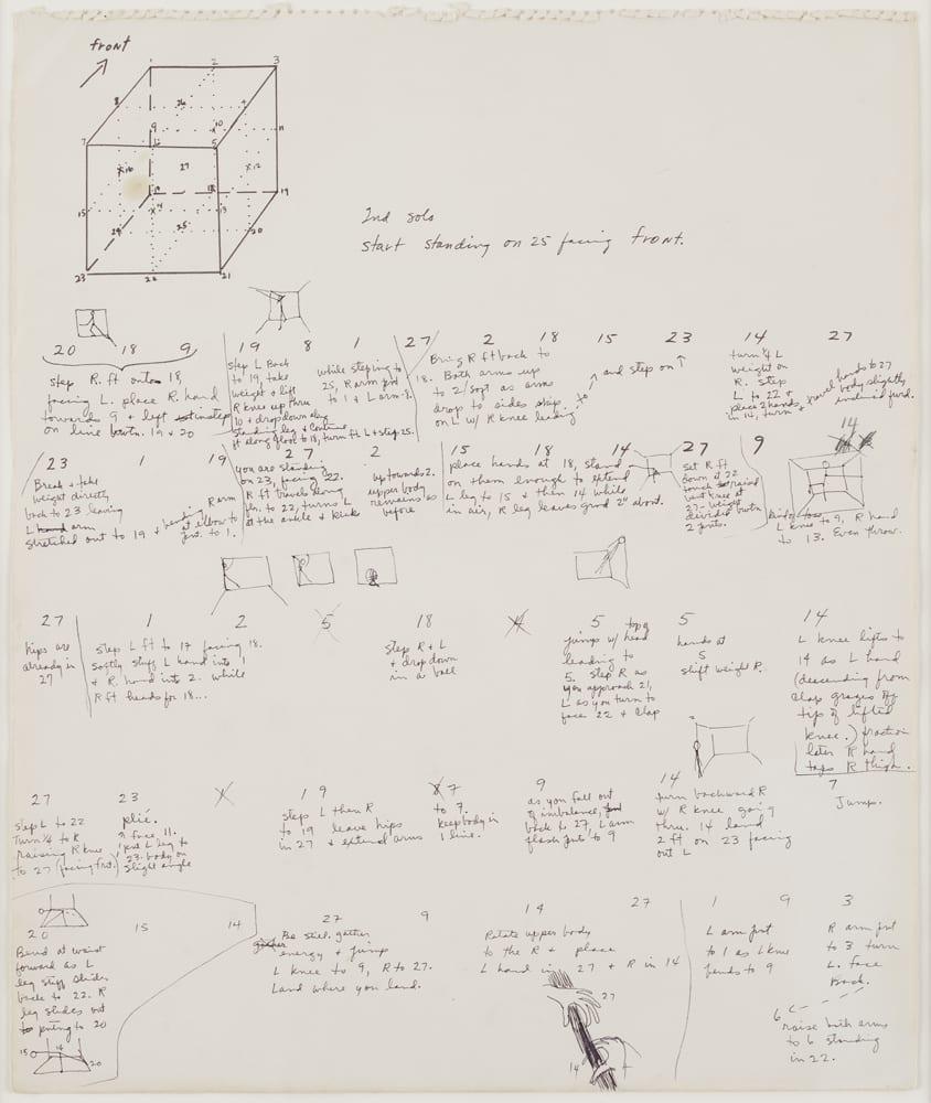 medium resolution of trisha brown untitled locus 1975 ink and graphite on paper