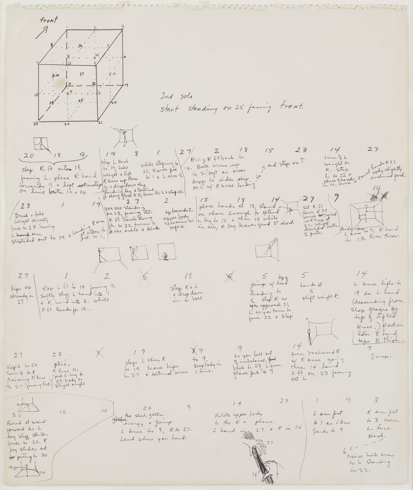 hight resolution of trisha brown untitled locus 1975 ink and graphite on paper